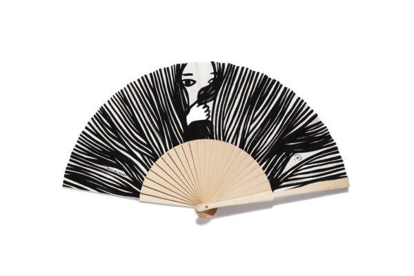 Natural Cashe-Cashe Handheld Fan | The Fan Museum Shop