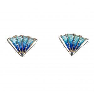 Sheila Fleet Stud Earrings | The Fan Museum Shop