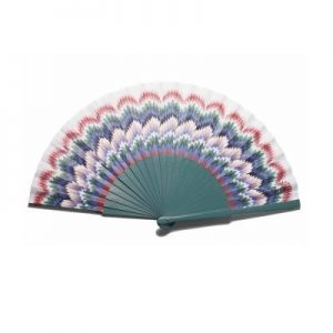 Green Bird Hand Fan | The Fan Museum Shop