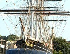Cutty Sark sailing ship Greenwich