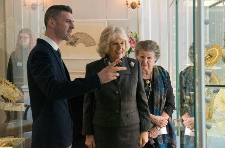 HRH The Duchess of Cornwall tours 'Waterloo: Life & Times' with Director Helene Alexander and curator Jacob Moss