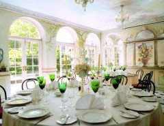 Orangery set for dining