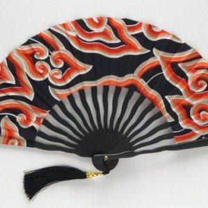 Serpentine fan (black)