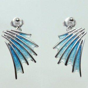 Sheila Fleet drop earrings (large)