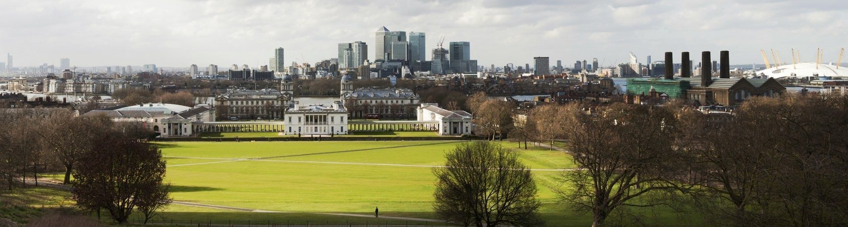 View over Greenwich London